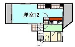 ティークフォレスト[4階]の間取り