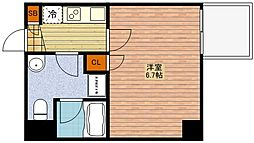 SERENITE中津[6階]の間取り