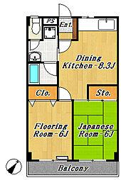 Break Area 1[2階]の間取り