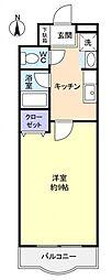 スカイハウス八千代[3階]の間取り