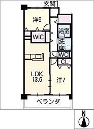 Grantage EAST[2階]の間取り