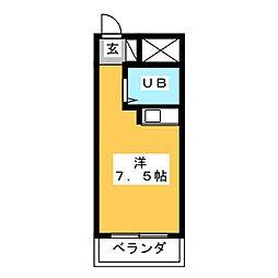 朝日プラザ浜松ステーションスクエア[1階]の間取り