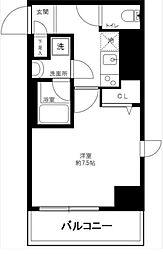 東京都荒川区東日暮里3丁目の賃貸マンションの間取り