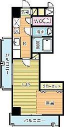堺町センタービル[707号室]の間取り