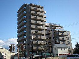 滋賀県大津市西の庄の賃貸マンションの外観