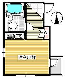 アサヒコート成城東[3階]の間取り