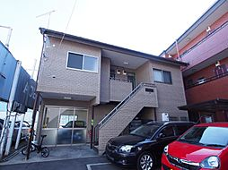 神奈川県川崎市多摩区長尾1丁目の賃貸アパートの外観