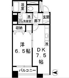 グランドソレイユ[4階]の間取り