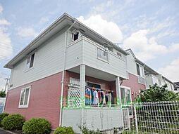 東京都町田市木曽西4丁目の賃貸アパートの外観