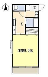 スカイコート本郷[1階]の間取り