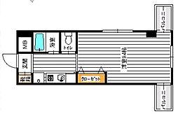 エトール夙川8[203号室]の間取り