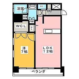 FIRST RESIDENCE SAKAE[11階]の間取り
