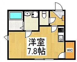 エスペランサ武蔵野[1階]の間取り