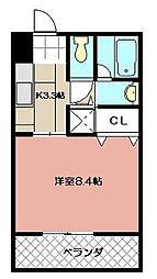 THE SQUARE KOBAI PREMIUM[406号室]の間取り