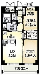 コートグランシャリオ[3階]の間取り