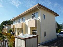 長野県茅野市湖東上菅沢の賃貸アパートの外観