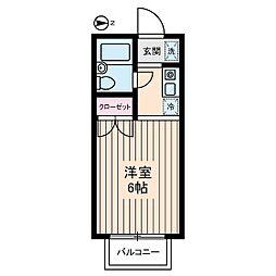 富士ハウス[2階]の間取り