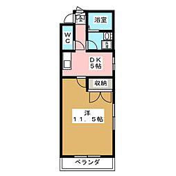 HANAYASHIKI[1階]の間取り