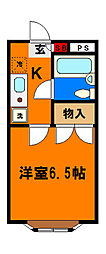 【敷金礼金0円!】桜木ハイリビング弐番館
