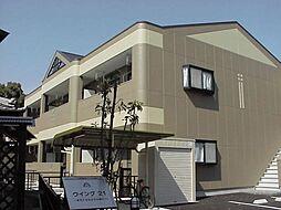 愛知県一宮市定水寺字郷内の賃貸アパートの外観