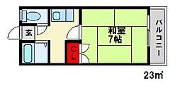 SUNS8[2階]の間取り