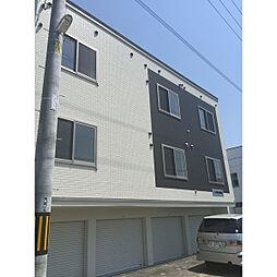 北海道札幌市白石区菊水九条1丁目の賃貸アパートの外観