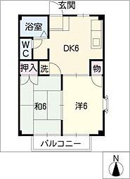 スウィートハイム[2階]の間取り