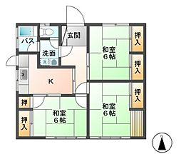 [一戸建] 長野県長野市大字安茂里 の賃貸【/】の間取り