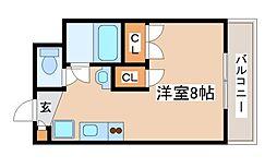 プレアール西神戸[105号室]の間取り
