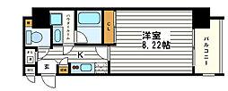 RESIDENCE SHINO(レジデンス志野)[7階]の間取り
