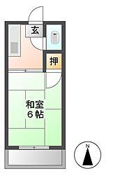 依田ビル コーポよだ[2階]の間取り