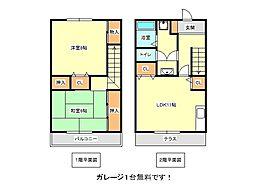 [テラスハウス] 兵庫県神戸市垂水区高丸5丁目 の賃貸【/】の間取り