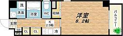 サン・ロレンツ心斎橋東[7階]の間取り