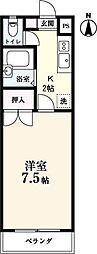 メゾンYOSHIDA[403号室]の間取り