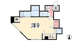 兵庫県姫路市塩町の賃貸マンションの間取り