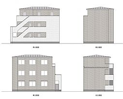 マツドシンデンハッピーハウス[203号室号室]の外観