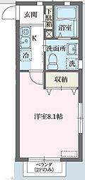 Prunus宮崎台[0103号室]の間取り