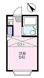 サンライフ徳丸[302号室]の間取り