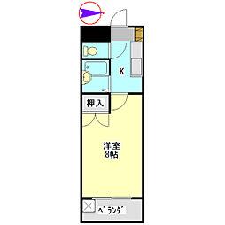 U・TOPIA 60[407号室]の間取り