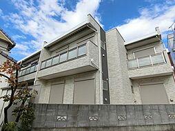 埼玉県越谷市蒲生東町の賃貸アパートの外観