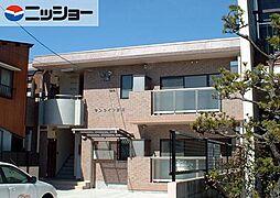 サンライフ赤坂[1階]の外観