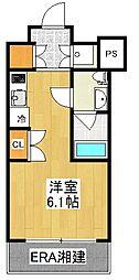 PREMIUM CUBE YOKOHAMA[4階]の間取り