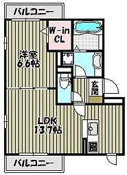 レシフェ[2階]の間取り