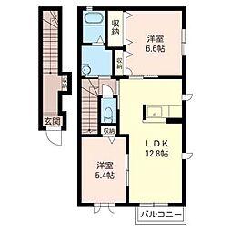 S379[2階]の間取り