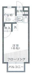クレスト新宿[2階]の間取り