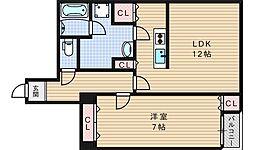 アクセスサカイ[2階]の間取り