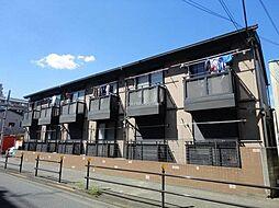 東京都小金井市本町3丁目の賃貸アパートの外観