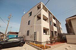 愛知県名古屋市港区明正1の賃貸アパートの外観