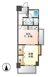 イトーピア新栄マンション[3階]の間取り