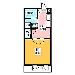 メゾン青木[2階]の間取り